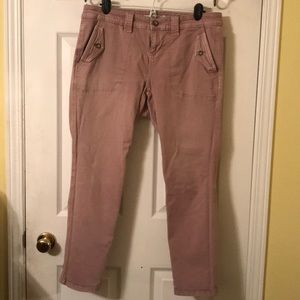 2/20 🔥 CUTE CROPPED PINK CARGO PANTS
